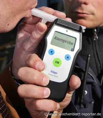 Trunkenheit im Verkehr: 1,69 Promille und der Führerschein wurde beschlagnahmt - Wochenblatt-Reporter