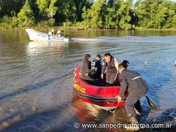 Buscan a dos personas desparecidas en el río Paraná - San Perdo Informa