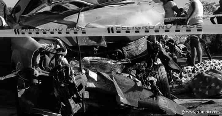 Choque de un automóvil con una volqueta deja cuatro muertos en Tamalameque, Cesar - Blu Radio