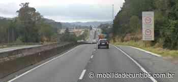 BR-116 tem lentidão em Campina Grande do Sul nesta quarta-feira, dia 9 - Mobilidade Curitiba