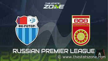Russian Premier League 2020-21 - Rotor Volgograd vs Ufa Preview & Prediction - The Stats Zone