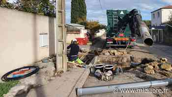 Poussan : l'avenue de la gare va faire peau neuve - Midi Libre