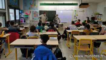 Poussan : le Souvenir français reçu à l'école Le Petit Prince - Midi Libre