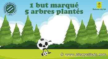 [Actualités] Delort et Savanier ont planté des arbres à Poussan - AllezPaillade.com