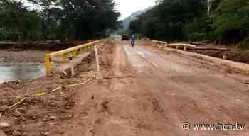 Habilitado paso entre Pedernales y Río Amarillo, Santa Rita, Copán - hch.tv