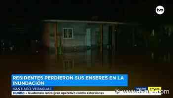 Noticias Desbordamiento del río Cañazas provoca inundaciones en Veraguas - TVN Panamá