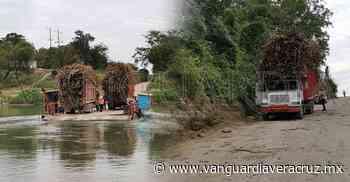 Chalán de Pánuco, en riesgo de hundirse por sobrecarga - Vanguardia de Veracruz