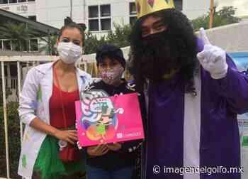 Paya Coatza, entrega regalos a niños que luchan contra leucemia - Imagen del Golfo