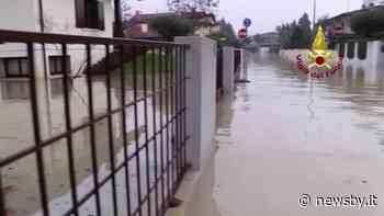 Maltempo: a Torri di Quartesolo un intero quartiere finisce sott'acqua - Newsby