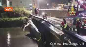Tronco d albero blocca il fiume a Torri di Quartesolo (VI), l intervento dei Vigili del Fuoco - Il Messaggero