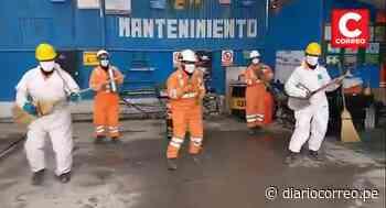 Mineros de La Oroya celebraron su día con divertidos Tik Tok - Diario Correo