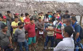 Indígenas de Bahía Solano exigen volver a sus casas - El Colombiano