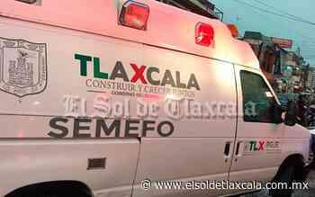 Abandonan a un hombre atropellado en Tenancingo - El Sol de Tlaxcala