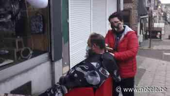 Bonsecours: un coiffeuse reçoit une amende de 250 euros pour avoir coiffé sur son trottoir - Notélé