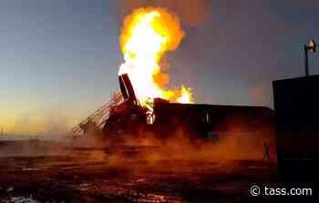 Fire breaks out at oil well in Russia's Orenburg Region - TASS