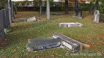 Ärger in Bergtheim: Grabsteine des Alten Friedhofs umgelegt - Main-Post