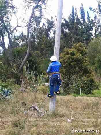 Tres sectores de Pelileo se quedarán sin luz la tarde de hoy - La Hora (Ecuador)