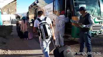 Arequipa: 50 personas regresaron a Orcopampa en el primer traslado interprovincial | lrsd - LaRepública.pe