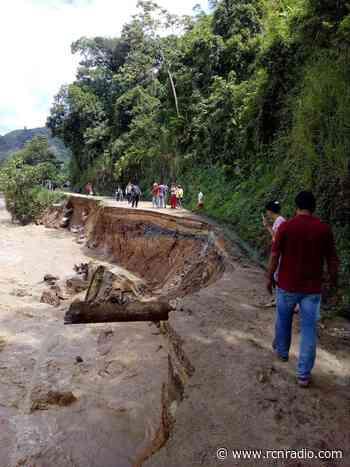 Fuertes lluvias mantienen incomunicado a Hacarí, Norte de Santander - RCN Radio