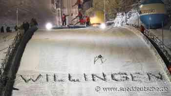 Keine Zuschauer beim Skisprung-Weltcup in Willingen - Süddeutsche Zeitung
