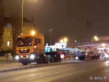 Seine-Saint-Denis. Convoi exceptionnel bloqué : la RN3 coupée à Livry-Gargan - actu.fr