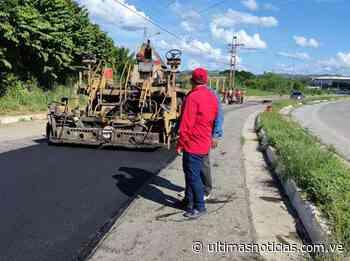 Retomaron plan de asfaltado en Santa Teresa del Tuy - Últimas Noticias