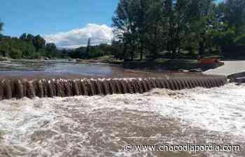 La esperada creciente entró al río de Carlos Paz - Chaco Dia Por Dia