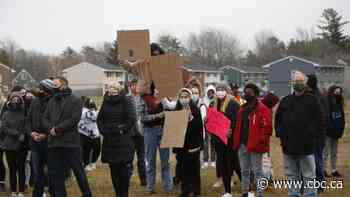 Oromocto students walk out of classes to protest 'daily' acts of racism - CBC.ca