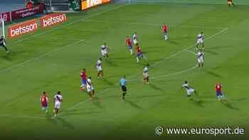 Arturo Vidal mit Traumtor bei Chile-Sieg in WM-Qualifikation - Eurosport - GERMANY (DE)
