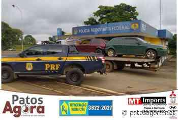 PRF recupera carga roubada de atacadista, em Campos Altos (MG) - Patos Agora