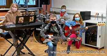 Bandklasse an der Galileo-Schule in Bexbach - Saarbrücker Zeitung