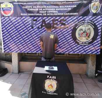 Detenidos dos presuntos delincuentes en operativo de las Faes en Tocuyito - ACN ( Agencia Carabobeña de Noticias)