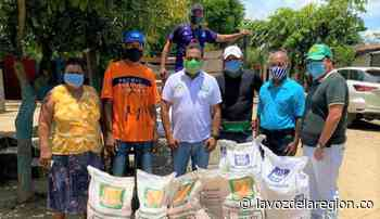 Cien familias de Paicol en proyecto de seguridad alimentaria - Noticias