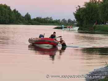 Se reanudo la busqueda de Agustin Rios en el riacho San Pedr - San Perdo Informa