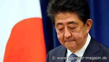 Japan: Ministerpräsident Abe tritt zurück - manager-magazin.de