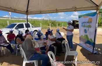 Corpamag finaliza obras en el caño 'El burro', municipio de Sitionuevo - El Informador - Santa Marta