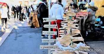 Pays d'Aix : le marché de Noël de Fuveau couronné de succès - La Provence