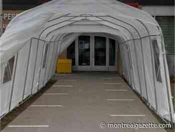 Vaudreuil-Dorion okays winter shelters for merchants during pandemic - Montreal Gazette