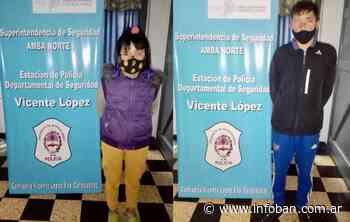 Pareja de jóvenes detenidos por robos en Carapachay - InfoBan