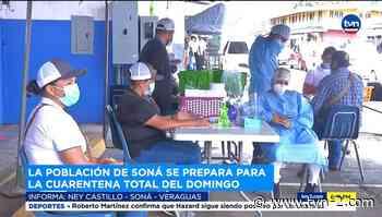 Distritos de Soná y San Francisco se preparan para cuarentena total este domingo - TVN Noticias