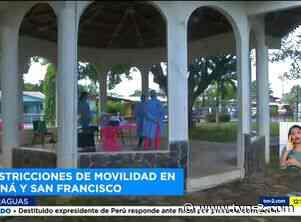 Refuerzan medidas de bioseguridad en el distrito de Soná y San Francisco - TVN Panamá