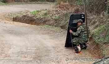 Ejército desactivó explosivo que ponía en riesgo a civiles en Caldono, Cauca - W Radio