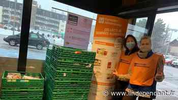 Font-Romeu-Odeillo-Via : la collecte, un moment essentiel pour la banque alimentaire - L'Indépendant