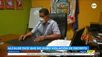 El Alcalde de Río de Jesús, niega que hubo fiesta en su casa - TVN Panamá