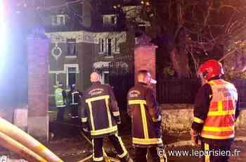 Brunoy : incendie dans une maison de maître la veille de sa vente aux enchères - Le Parisien