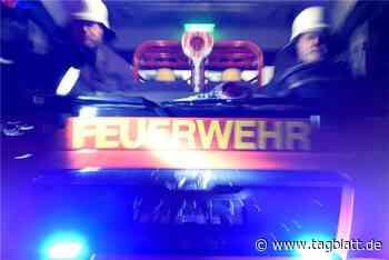 Zwei Menschen bei Wohnungsbrand in Obersulm verletzt - Schwäbisches Tagblatt