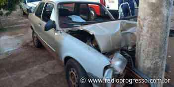 Motorista morre após colidir carro em poste em Espumoso - Rádio Progresso de Ijuí