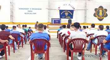 San Martín: internos del penal de Juanjuí reciben educación a distancia LRND - LaRepública.pe
