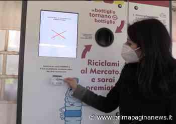 Roma, Campidoglio: attivata macchinetta mangiaplastica nel mercato Borgo Ticino - PPN - Prima Pagina News