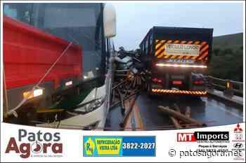 Engavetamento mata uma pessoa na BR-262 entre Campos Altos e Ibiá - Patos Agora